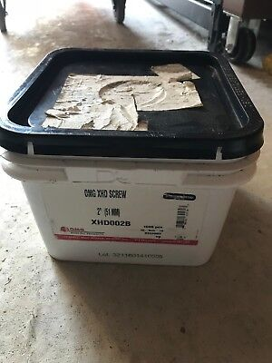 """2"""" OMG XHD002B Extra Heavy-Duty ROOFING FASTENER 1M - 1000 PIECES BOX"""