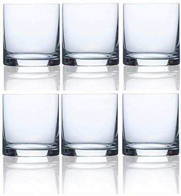 Circleware 44616 Soiree Double Old Fashioned Whiskey Glasses, Set of 6 Drinking