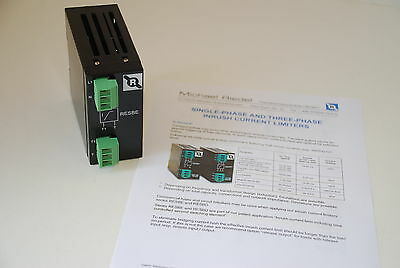 MICHAEL RIEDEL RESBE 208VAC/16A 1 Phase Inrush Current Limiter  FREE SHIP   (E2)