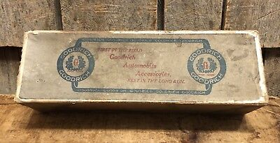 RARE Vintage GOODRICH Automobile Accessories Lace On Tire Sleeve With Box