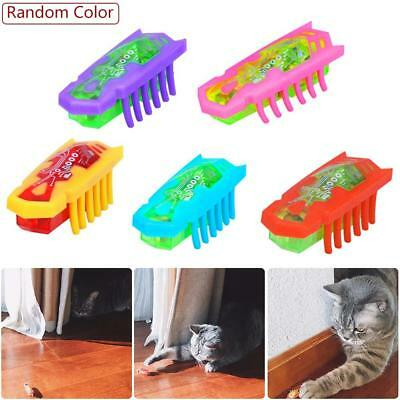 Electric Bug Play Chase Toy Cat Teasing Hunt Kitten Instinct Fast Moving Pet Toy