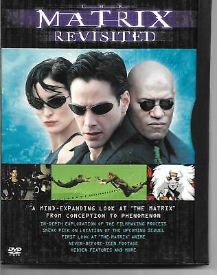 The Matrix Revisited (DVD)! Keanu Reeves! Laurence Fishburne! Science Fiction!