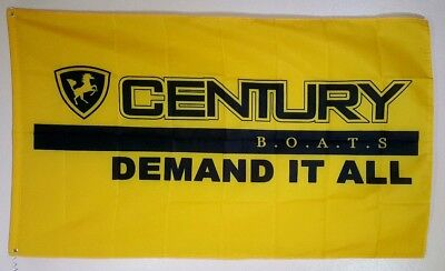 Century Boats Banner 3x5 Ft Advertising Flag Man Cave Decor 2200 Express 2600