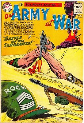 Dc 1963 Our Army At War 128  Vg/f (5.0)   ::   Lrg Scans :: 99 Cent Nr
