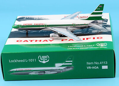JC Wings 1:400 Cathay Pacific Lockheed L-1011 Diecast Aircraft Models VR-HHL
