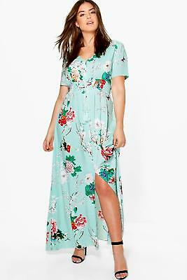 40bbf4a4af09 ... Size XL 22 Fit & Flare Floral RETRO 50s Pink Blue. $38.95 Buy It Now  27d 20h. See Details. NEW Boohoo Womens Plus Floral Print Maxi Dress in  Viscose