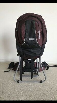 c1afddce92a REI TAGALONG INFANT Baby Child Hiking Carrier Gray Black Tag-A-Long ...