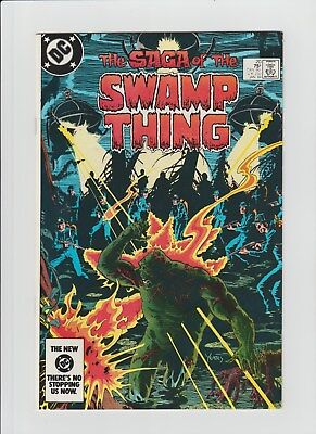 The Saga of Swamp Thing #20 (Jan 1984, DC) NM (9.4) 1st. Alan Moore Issue !!!!!!