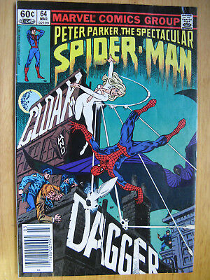 Spectacular Spiderman #64. 1St Appearance Cloak And Dagger.