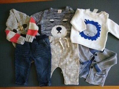 Baby bundle 00 & 000 Jumper Pants (4x Seed + Target & Cotton On)
