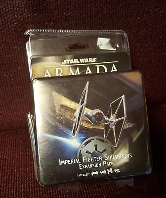 Star Wars Armada Imperial Fighter Squadron pack one 1 expansion - Opened Unpunch