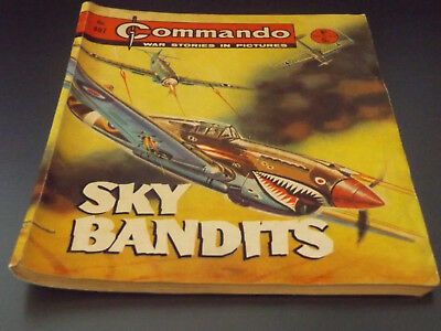 Commando War Comic Number 497!,1970 Issue,v Good For Age,48 Years Old,v Rare.
