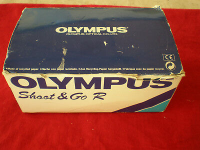 Olympus Film camera  shot&GO R 35mm in original box,instrcrion book.Never used