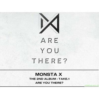 Monsta X[Take.1 Are You There?]2nd Album II Ver CD+K-POP Poster+etc+Frachtnummer