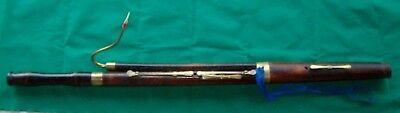 ANTIQUE 6-KEYED ENGLISH BASSOON BY J. CRAMER, RESTORED, PLAYS AT A=415 Hz