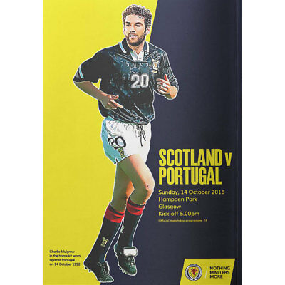 Scotland v Portugal - International Friendly - 14 October 2018 - Glasgow Seller