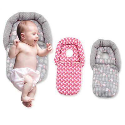 Infant Baby Head/Neck Support Holder Headrest Pillow for Baby Stroller Car Seat