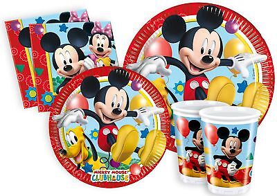 Ciao Y2495 - Kit Party Festa in Tavola Mickey Mouse Club House per 24 Perso JVn3