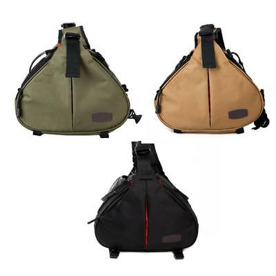 Camera Backpack Sling Shoulder Bag Case Shockproof for DSLR SLR Canon Nikon So