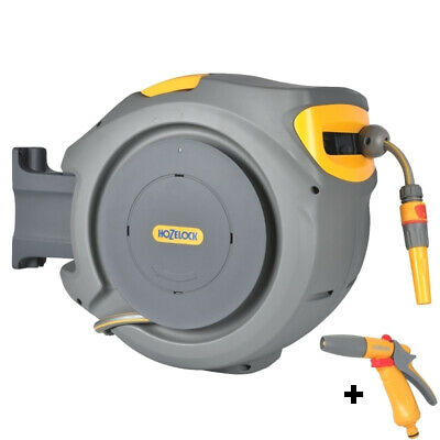 Hozelock Auto Reel Automatic with 20m Garden Hose - 2401 (Replaces 2490)