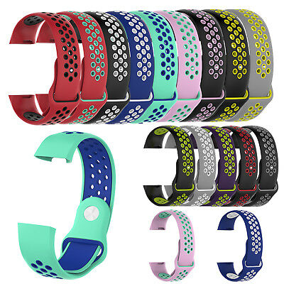 Silicone Sports Wrist Band Small & Large Replacement Strap For Fitbit Charge 3