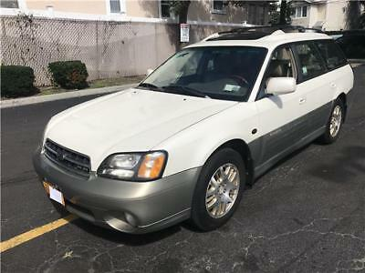 2001 Subaru Legacy Outback H6 L.L. Bean Edition 2001 Subaru Legacy Wagon Outback H6 L.L. Bean Edition 81,988 Miles White Frost P