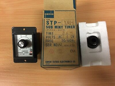 OMRON STP-YMH  SUBMINY TIMER 36 Minutes