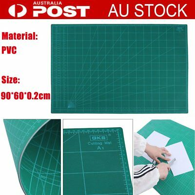 A1 Thick 5-Ply Self Healing Craft Cutting Mat 2 Side Print Scrapbooking OM