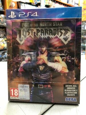 Fist Of The North Star Lost Paradise Kenshiro Edition Ita PS4 NUOVO SIGILLATO