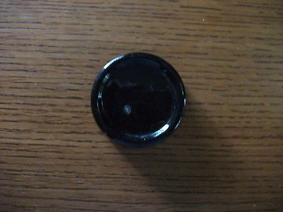 Antique Black Ceramic Furniture Coaster Slider