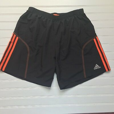 adidas Response Men's Track Black Pants Running Climalite S99007 Medium
