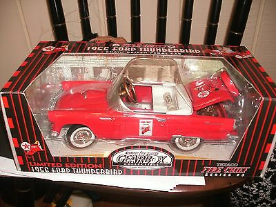 NIB Gearbox Limited Edition 1956 Series 3 Ford Thunderbird Texaco Diecast Car