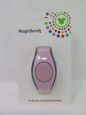 Disney Parks Millennial Soft Pink Magic Band 2 MagicBand NIP Ready to Link