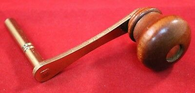 Vintage German Winding Crank Key - Kieninger Crank Winding Wall Clock Key 4.5mm