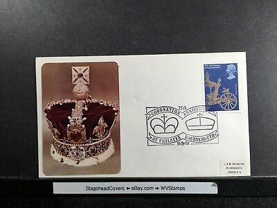 Great Britain Cover 31 Jul 1978 25th Anniv. Coronation Elizabeth II Addressed