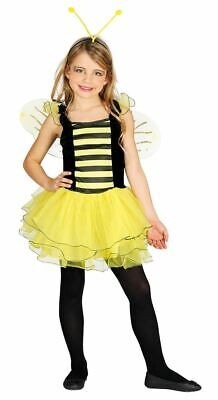 Girls Cute Little Honey Bee Animal Insect Fancy Dress Costume Book Day Outfit