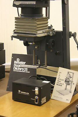 Beseler 23C Enlarger With Dualdichro Universal Color Head and Stabilized Power