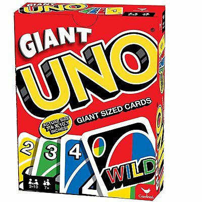 Giant Uno Giant Game, Big Fun and Fantastic Activity with Friend and Family