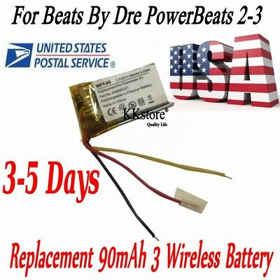 Replacement AHB481221 Battery 90mAh for Beats by Dre PowerBeats2 3 Wireless