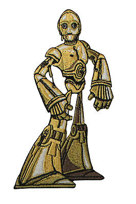 Star Wars C3PO Embroidered Iron On Patch - Robot Droid Officially Licensed 134