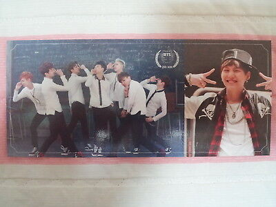 37)BTS Bangtan Boys SKOOL LUV AFFAIR Boy In Luv Suga Photo Card *Optional Type