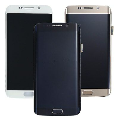 New For Samsung Galaxy S6 Edge G925A G925F LCD Touch Screen Digitizer + Frame