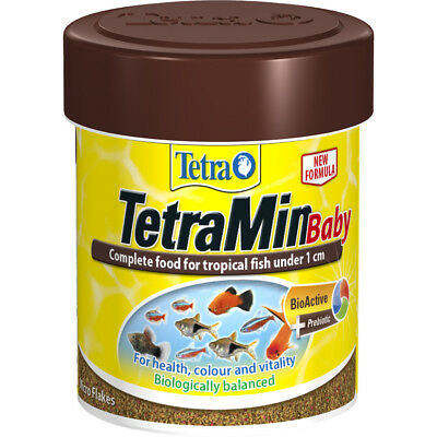 Tetra TetraMin Baby 35g Complete Fish Food for Tropical Fish Under 1cm