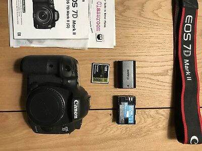 Canon EOS 7D Mark II 20.2MP Digital SLR Camera - W/ Some Extras