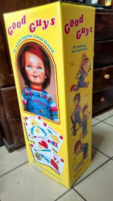 Custom Good Guys BOX - Child's Play - Chucky doll 1:1 life size prop