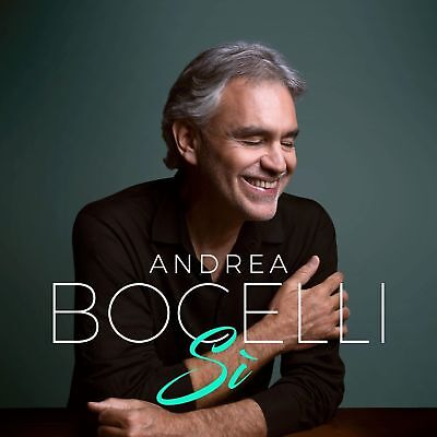Andrea Bocelli-Si-New CD 2018 Featuring ED Sheeran, Dua Lipa, Josh Groban