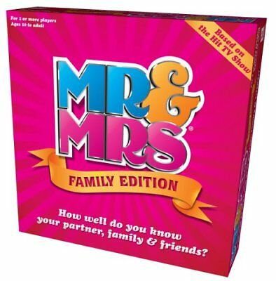 Mr  Mrs Family Edition Box Game