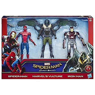 Spider-Man Homecoming Web City 6-inch 3 Figures Spiderman Ironman and Vulture