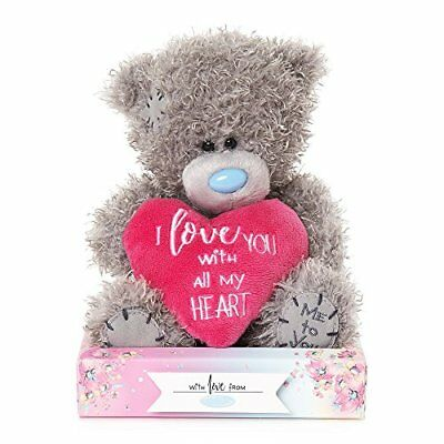 "9/"" Mum I Love You With All My Heart Tatty Teddy Bear MP901009 Me To You"