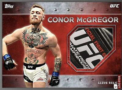 2018 Topps UFC Knockout Conor McGregor Relic 200cc 4.5x (Digital)